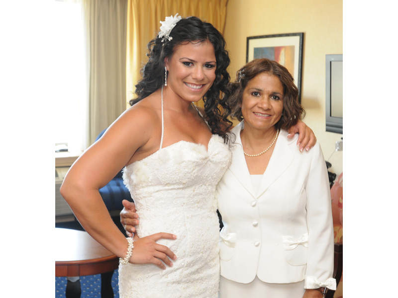 25 May 2012: Wedding of Jerron Cannon & Nicky Rawson at the Courtyard Marriott in Culver City, CA.
